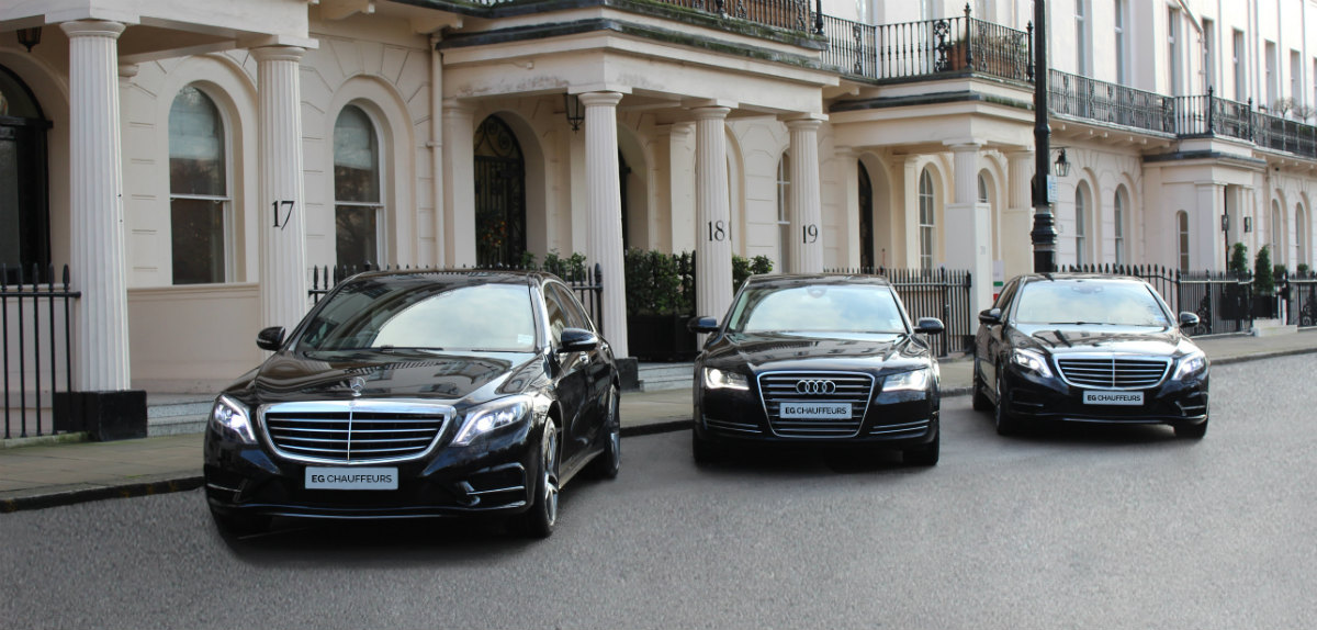 Luxury chauffeur driven cars prices mercedes s class