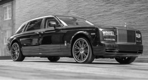 Rolls Royce Phantom Stag and Hen Parties chauffeur