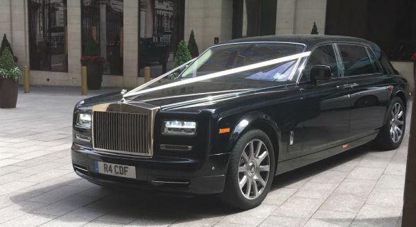 Rolls Royce Phantom Wedding Chauffeur Car Hire