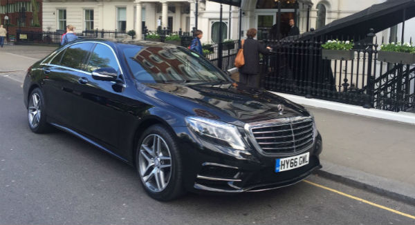 S Class Stag and Hen Parties chauffeur