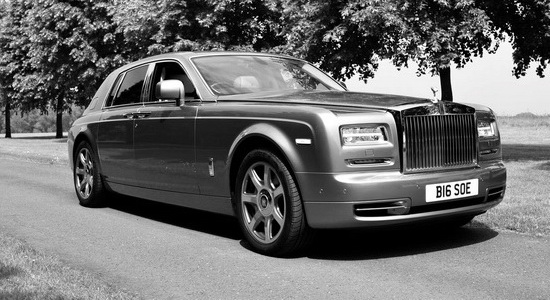 Rolls Royce Phantom Chauffeur Driven