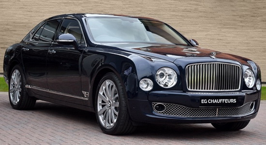 Bentley Mulsanne Chauffeur London